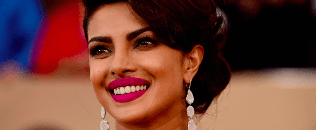 Join Us as We Obsess Over Priyanka Chopra's Orchid Lip at the SAGs