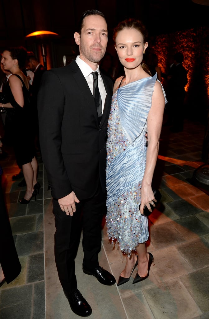 Michael Polish and Kate Bosworth looked glamorous at the event.