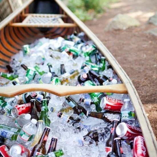 Outdoor Drink Stations For Weddings