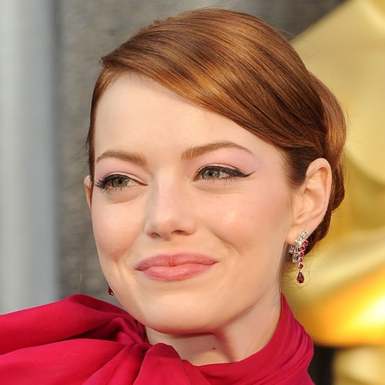 Emma Stone's Oscars Beauty Look For 2012