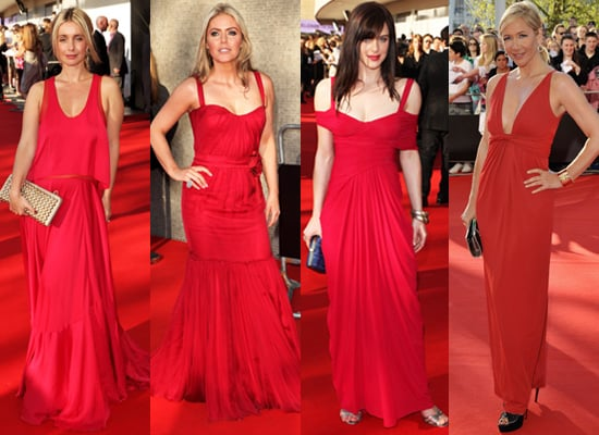 Photos of Red Dresses at 2009 BAFTA TV Awards