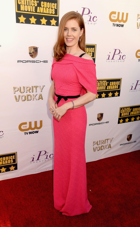 Amy Adams at the Critics' Choice Awards 2014