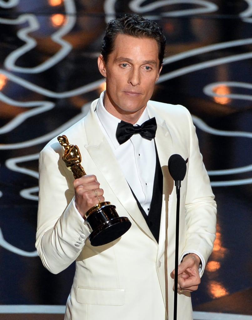 Best Actor: Matthew McConaughey