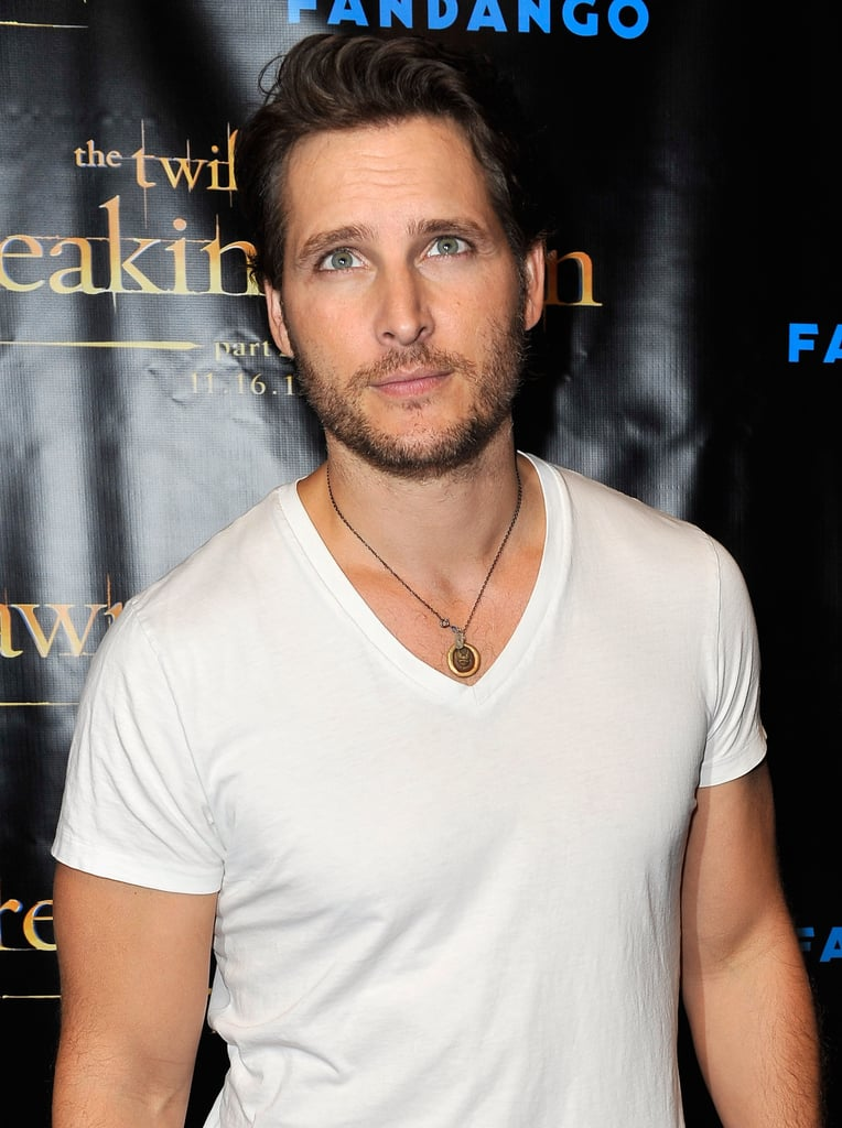 Peter Facinelli posed at the Breaking Dawn Part 2 party at Comic-Con.