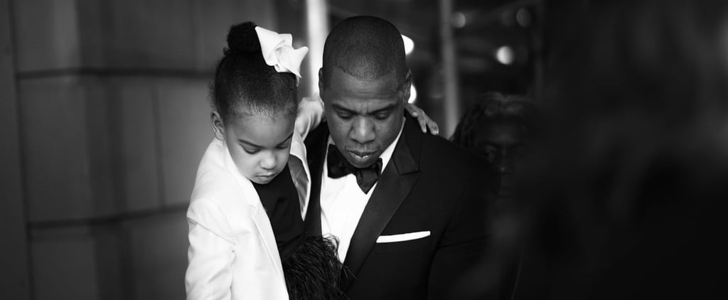 Jay Z and Blue Ivy Are the Definition of Twinning While Supporting Beyoncé at the CFDA Fashion Awards