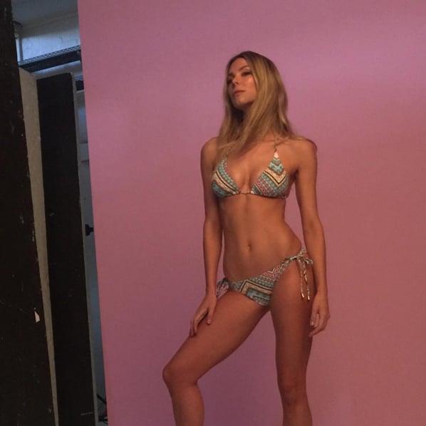 Jennifer did a Cozi shoot in 2015.