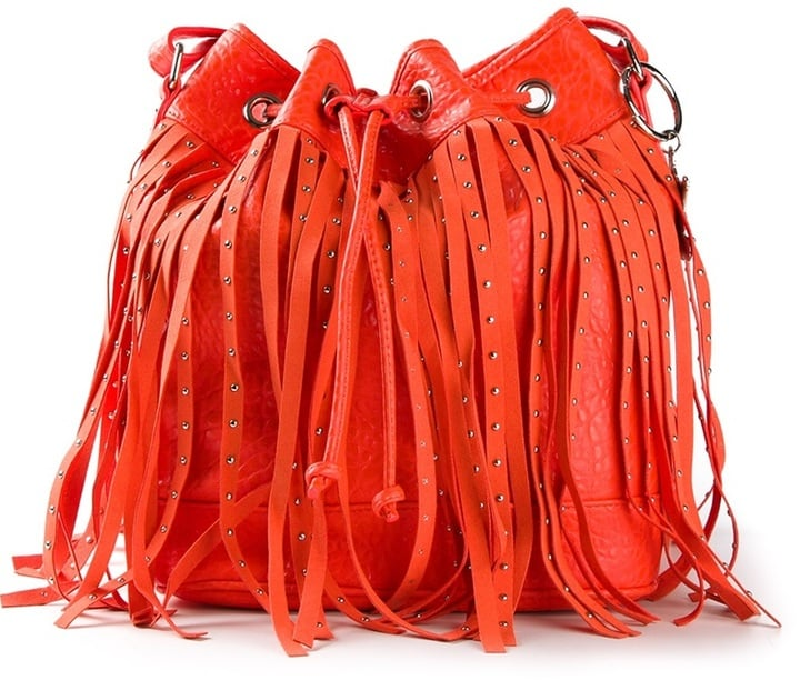 Mia Fringed Bucket Bag