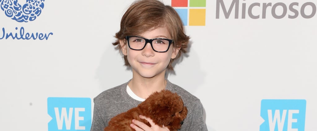 Jacob Tremblay Got a Puppy, and It's Almost as Cute as Him . . . Almost