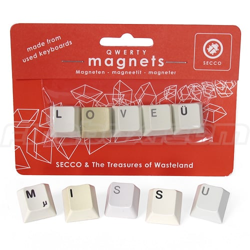 Add Some Love Letters to Your Keyboard