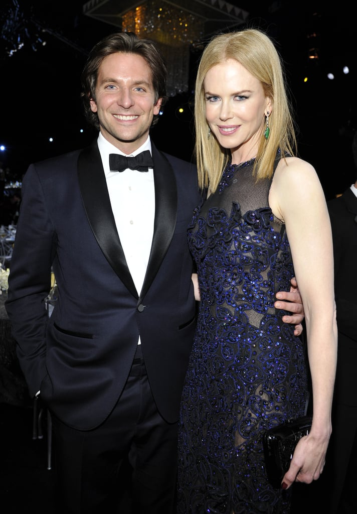 Bradley Cooper caught a moment with Nicole Kidman at January's SAG Awards.