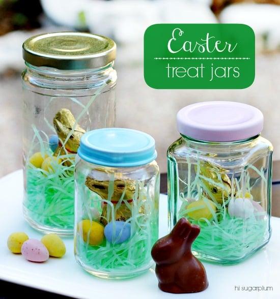 Easter Treat Jars