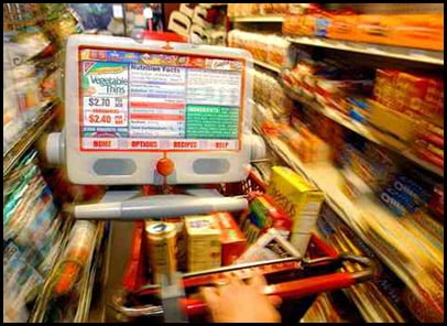 High Tech Grocery Cart: Love It or Leave It?
