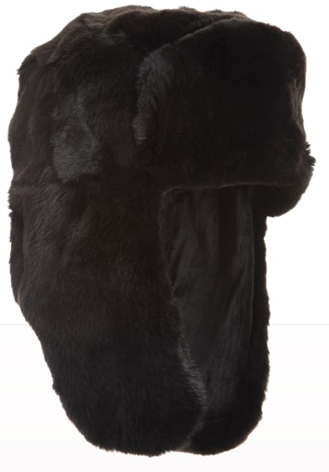 If you prefer something darker, then try this Barneys New York reversible fox-fur trapper hat ($525). Its ultraluxe design will ensure that you wear it for years to come.
