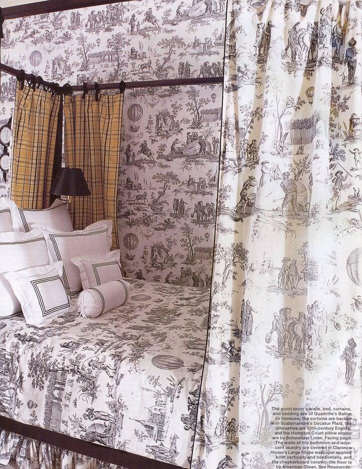 toile popsugar home. Black Bedroom Furniture Sets. Home Design Ideas