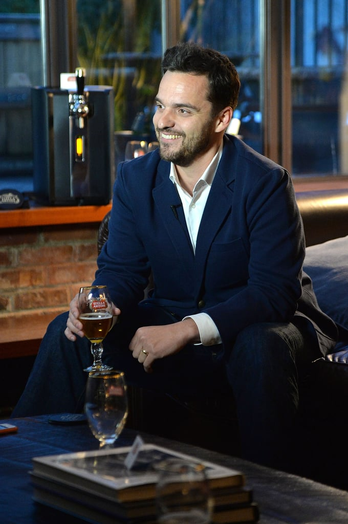 Jake Johnson hosted a party in NYC on Tuesday for Stella Artois's PerfectDraft.