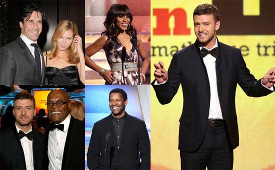 Photos of Justin Timberlake, Samuel L Jackson, Jon Hamm at American Cinematheque Gala