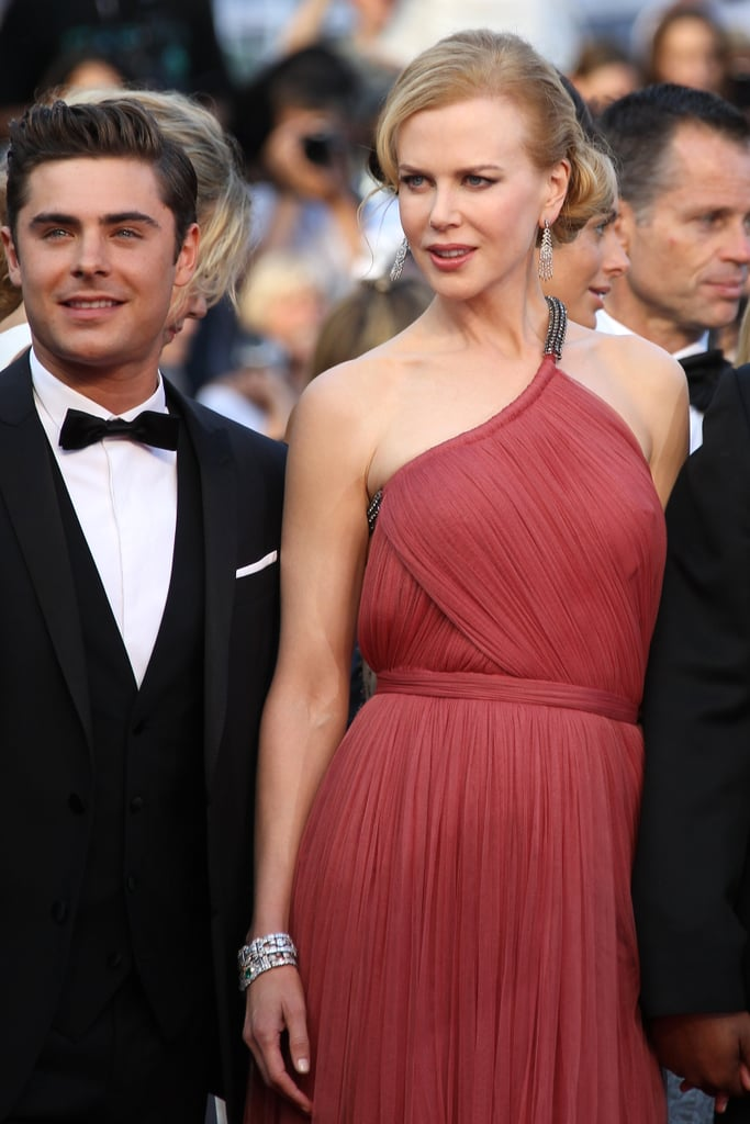 Nicole Kidman and Zac Efron walked the red carpet in Cannes for the premiere of their film.