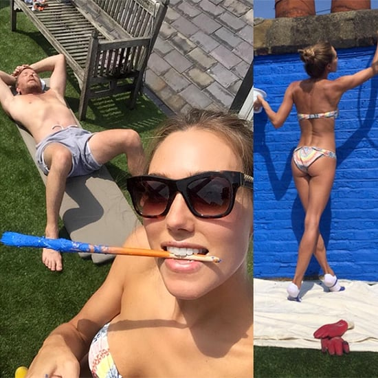 Guy Ritchie Relaxes in the Sun as Bikini-Clad Wife Jacqui Does All the Work in Fun Instagram Snap