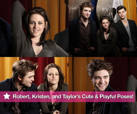 Pictures of Robert Pattinson, Kristen Stewart and Taylor Lautner Together