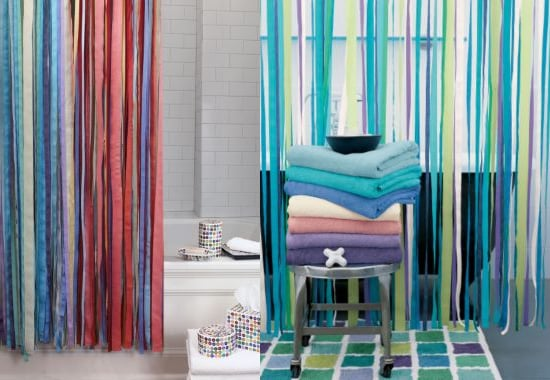 Steal of the Day: Garnet Hill Ribbon Shower Curtain