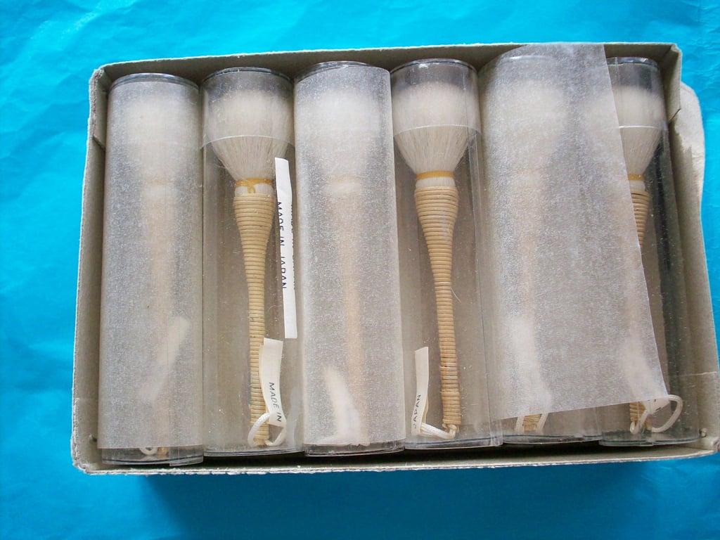 1940s Japanese Brush Set