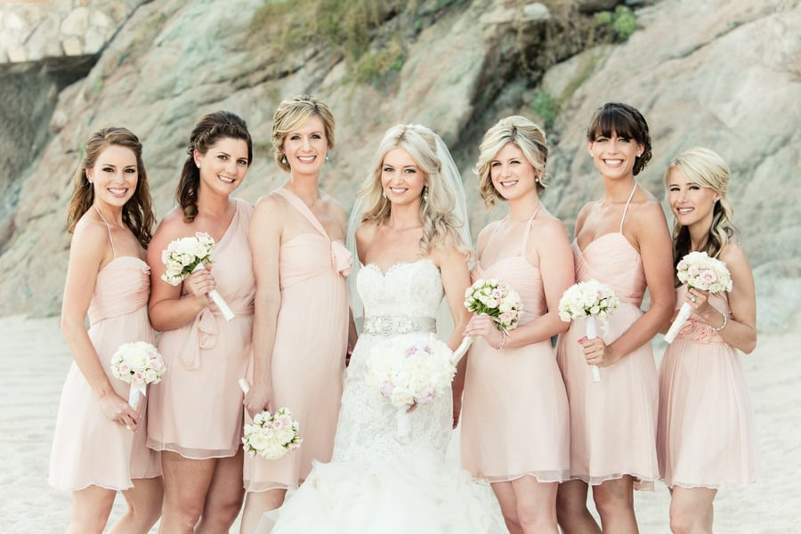 Now: Traditional Bridesmaid Dresses