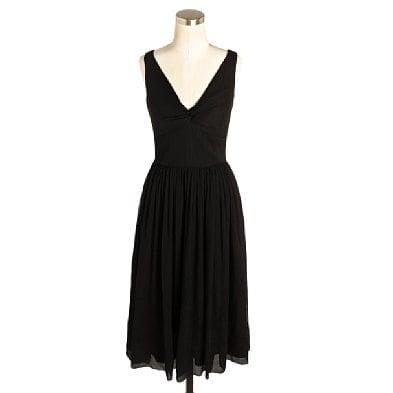 Silk Chiffon Twist Tank Dress (Was $170) $89.99 @ JCrew