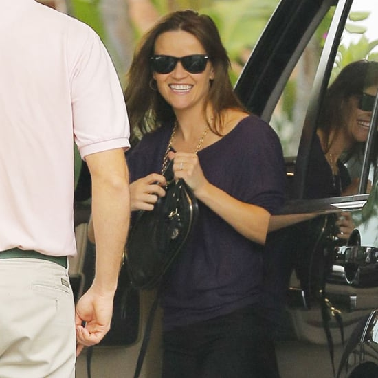 Reese Witherspoon Smiling After Arrest
