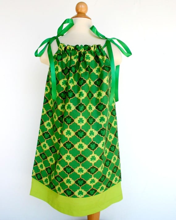 St. Patty's Pillowcase Dress