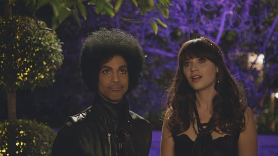 Here Are More Pictures of Prince Just Bein' Prince on New Girl