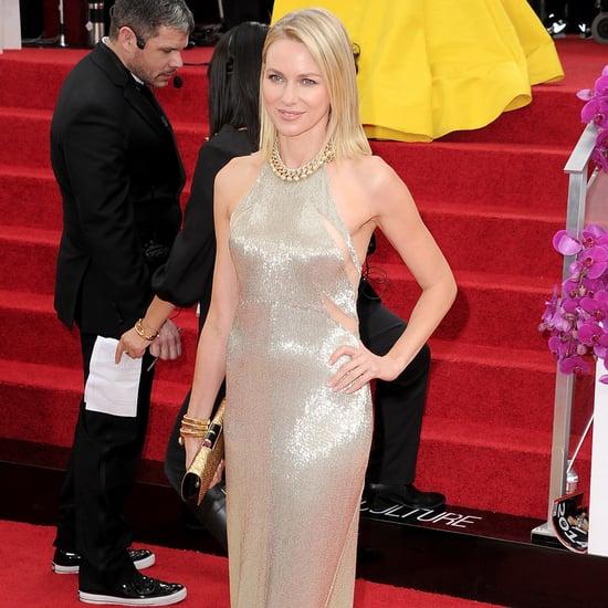 Naomi Watts Dress on Golden Globes 2014 Red Carpet