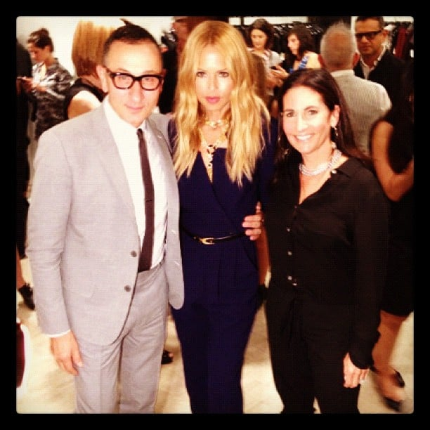 J.Mendel, Rachel Zoe, Bobbi Brown