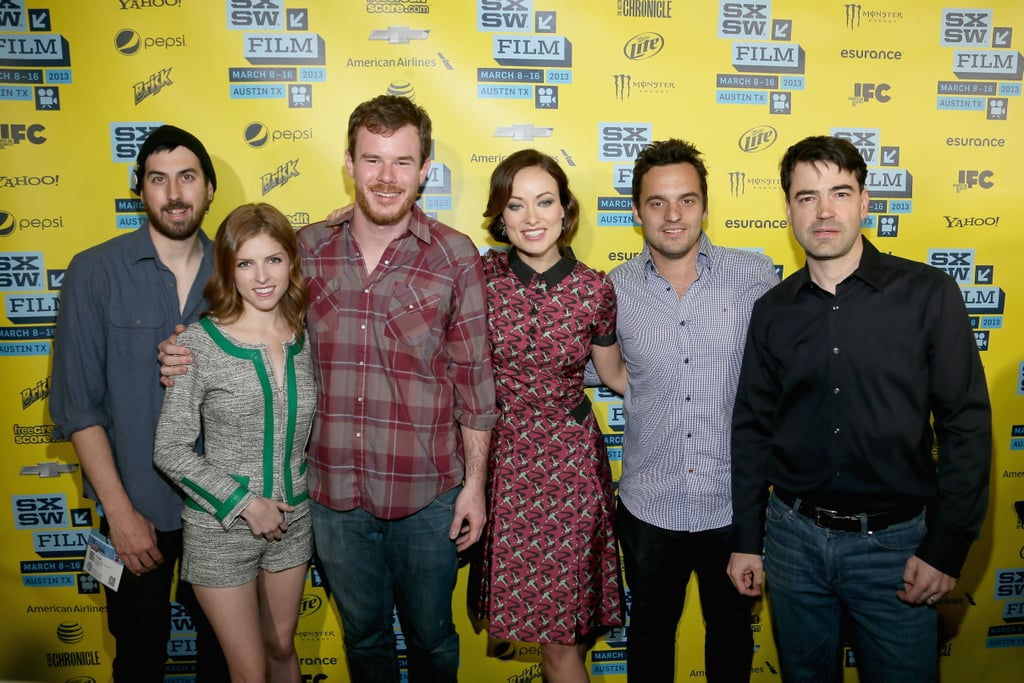 Anna Kendrick and Olivia Wilde linked up with their Drinking Buddies co-stars for the film's premiere at SXSW.