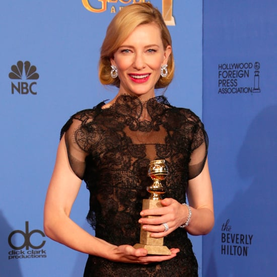 Cate Blanchett at the Golden Globes 2014