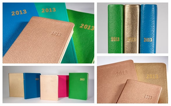 Leather-Bound Date Book