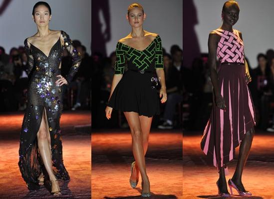 Photos of Zac Posen Spring 2010 at New York Fashion Week Starring Coco Rocha