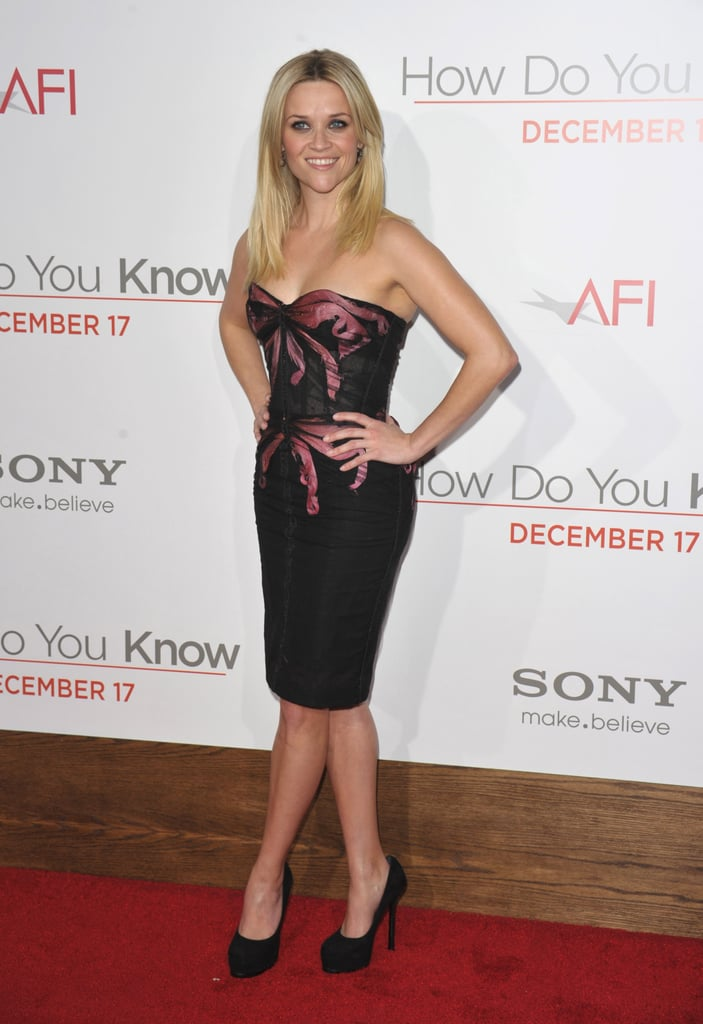 Reese Witherspoon in Zac Posen at 2010 How Do You Know LA Premiere