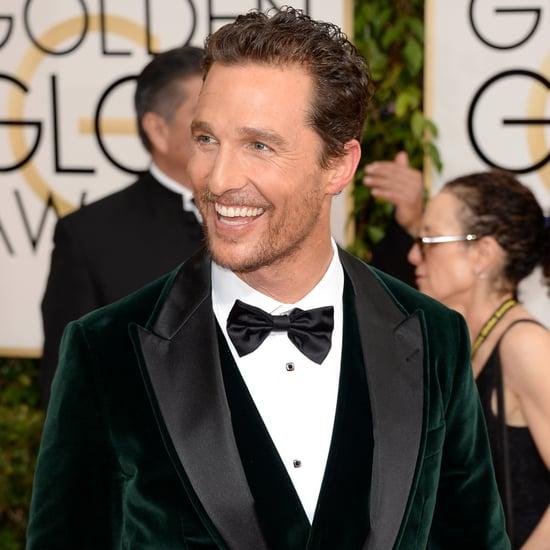 Hot Guys at the Golden Globes 2014
