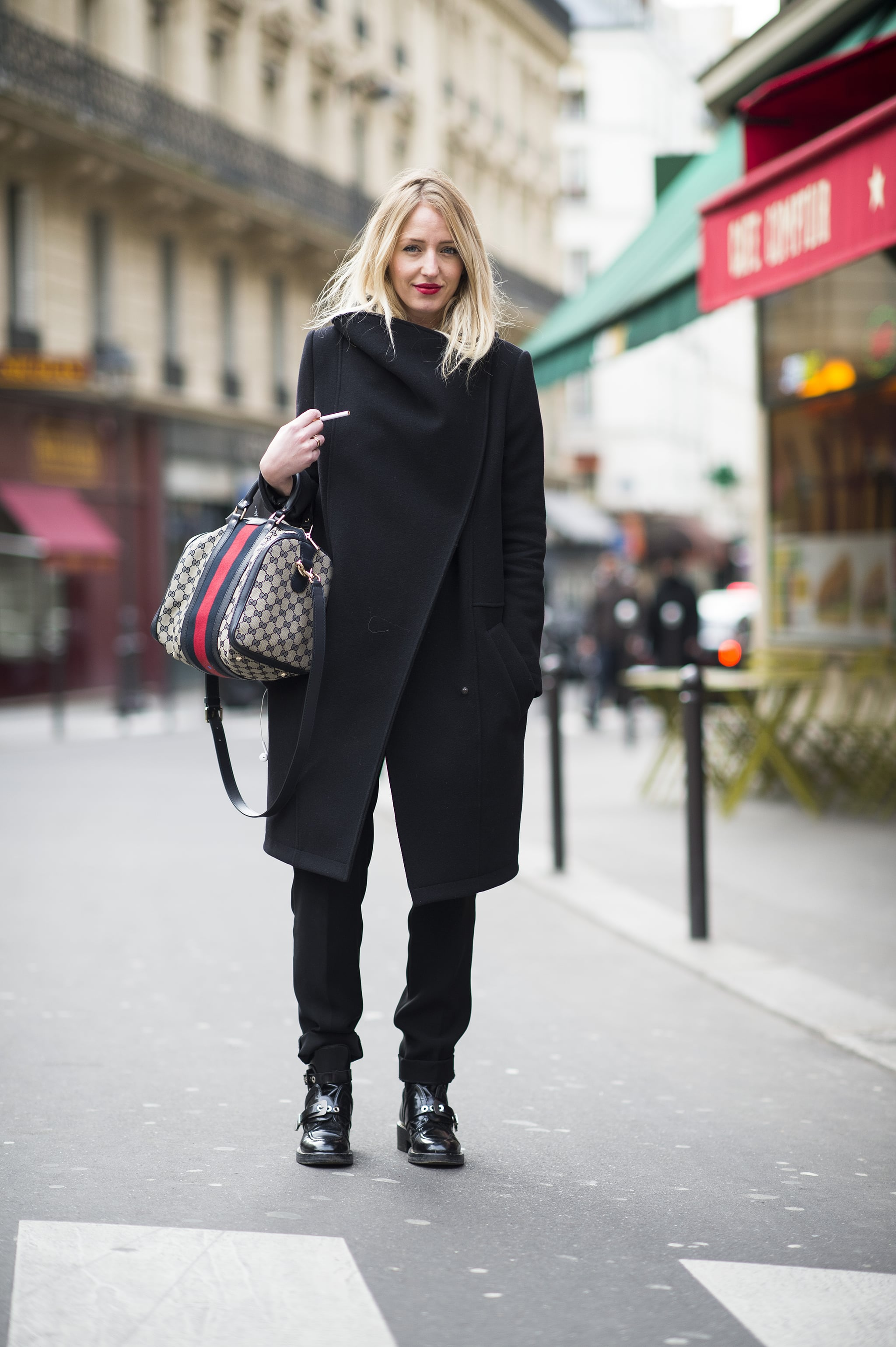 The best kind of outerwear is the kind that makes you forget what you have on underneath. Source: Le 21ème | Adam Katz Sinding