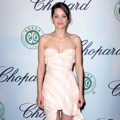 Marion Cotillard and Colin Firth at Chopard Lunch in Cannes