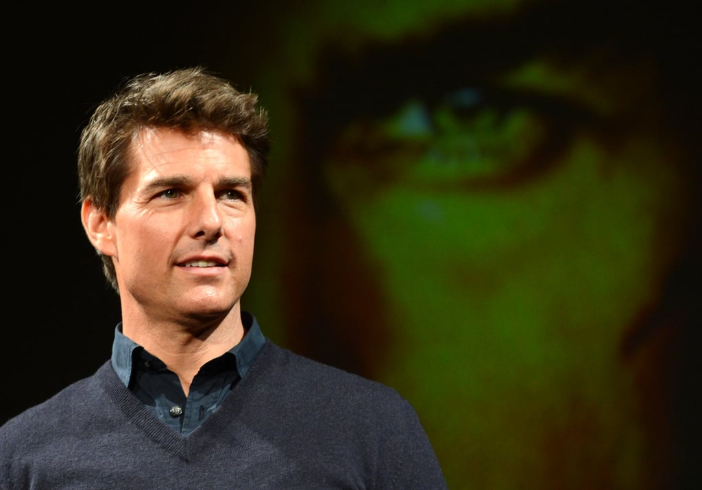 Tom Cruise was doing press for his new film.