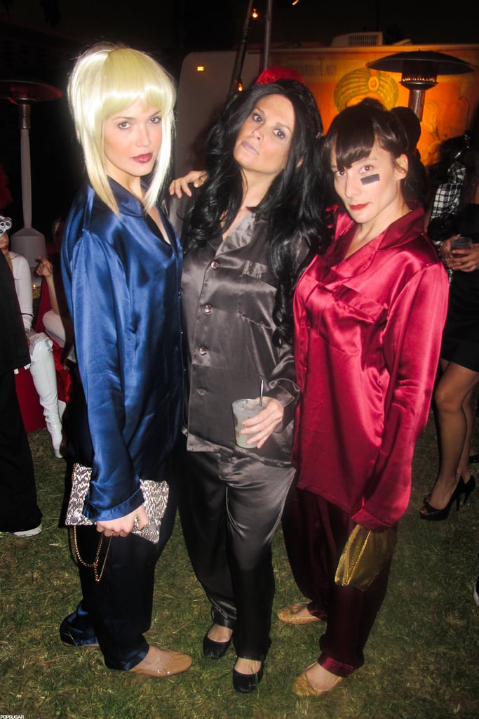 """Mandy Moore and her friends channeled TLC's """"Creep"""" video at a party in LA in 2011."""
