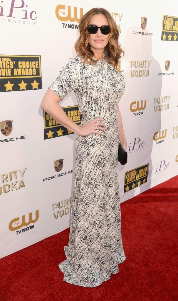 Julia Roberts at the Critics' Choice Awards 2014