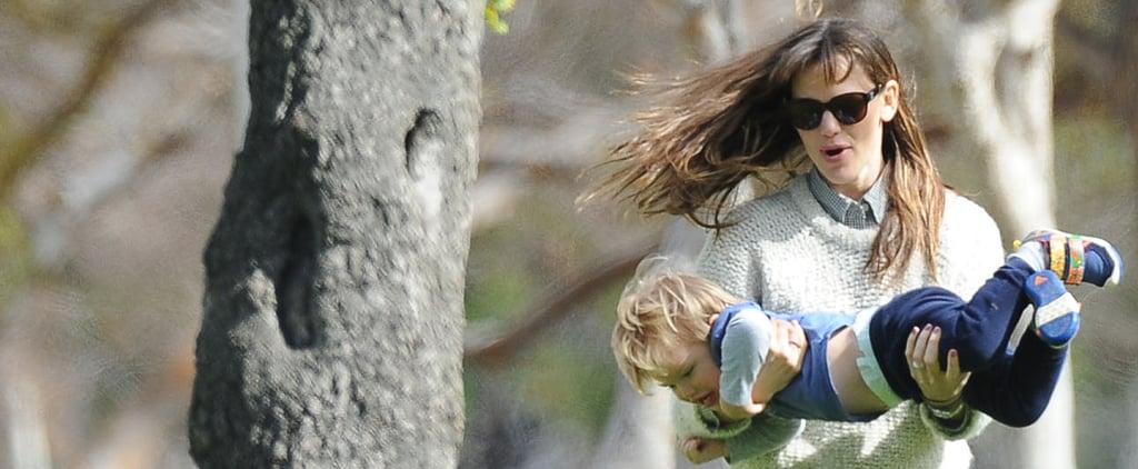 Jennifer Garner Laughs It Up With Her Little Ones
