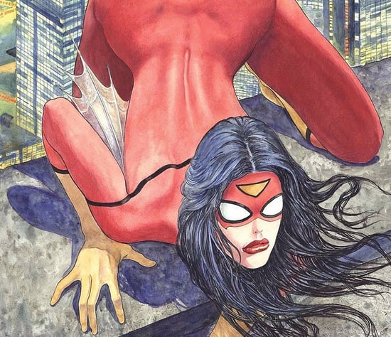 WTF Is Going on With the Sexy Spider-Woman Cover?