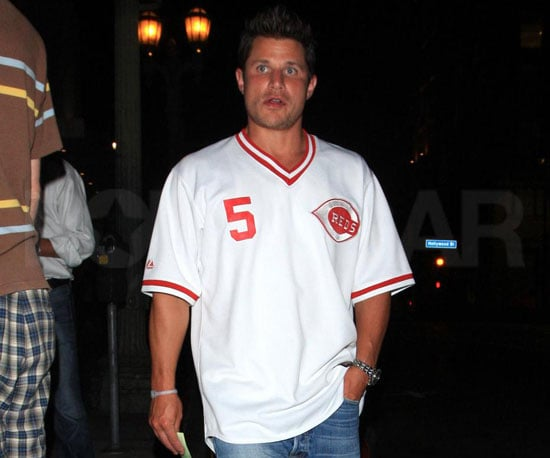 Photo Slide of Newly Single Nick Lachey Out in LA