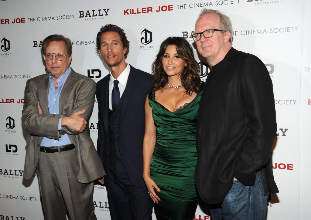Matthew McConaughey linked up with Gina Gershon, Tracy Letts, and William Friedkin at a screening of Killer Joe.