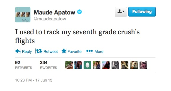 @maudeapatow gets personal.