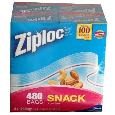 Ziploc 100-Calorie Snack Bags: Cool or Not?