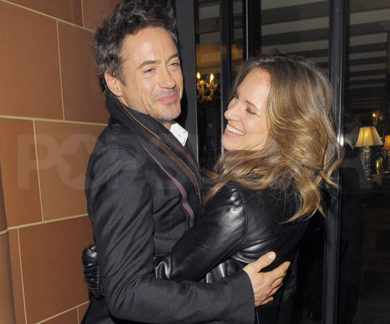 Photo Slide of Robert Downey Jr and Susan Downey in London